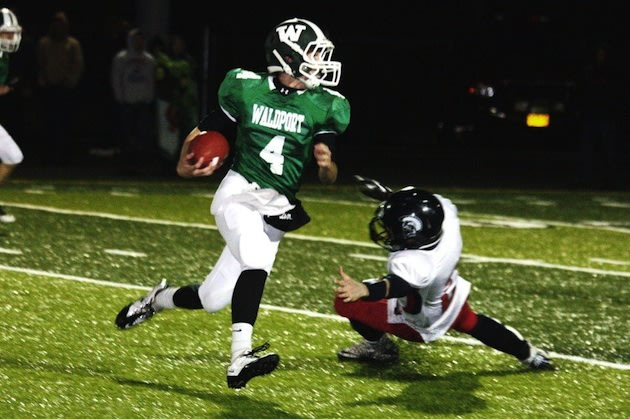 Waldport record-setting receiver Kraig Pruett — Ed Townsend photo via Oregon Live