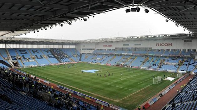 Coventry's talks over rent at the Ricoh Arena have collapsed