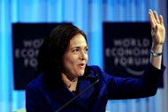 "US Chief Operating Officer of Facebook Sheryl Sandberg delivers an address entitled ""Women as the Way Forward"" in January 2012 in Davos. The woman known for her powerful place at the side of Facebook chief Mark Zuckerberg on Monday took a seat on the leading social network's board of directors"