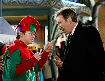 Spencer Breslin and Tim Allen in Disney's The Santa Clause 3: The Escape Clause
