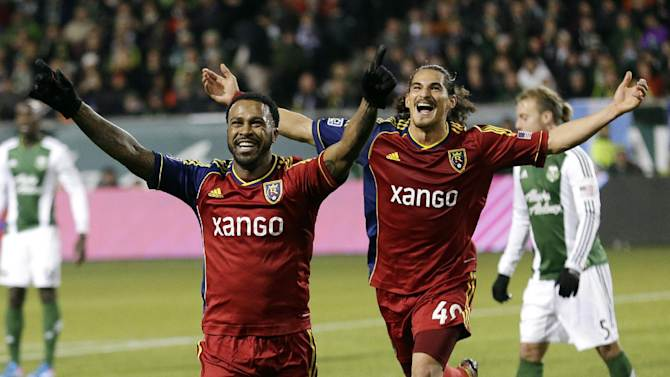 Real Salt Lake advances to MLS Cup