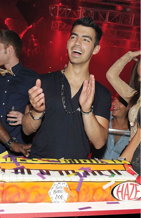 Joe Jonas Vegas Bday Party
