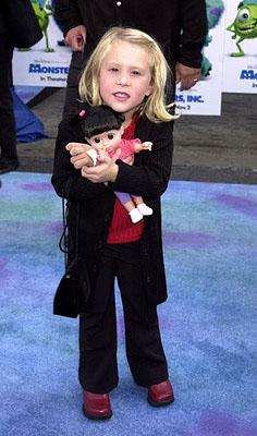 Mary Gibbs at the Hollywood premiere of Monsters, Inc.
