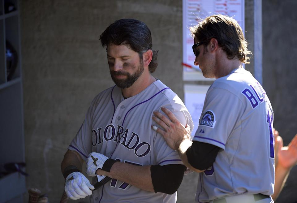 Rockies say so long to Todd Helton