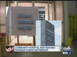 Wishard-Eskenazi, Community Health announce hospital partnership