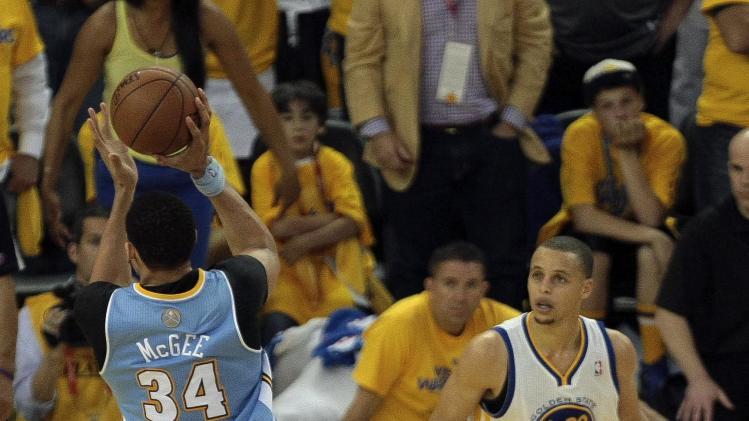 NBA: Playoffs-Denver Nuggets at Golden State Warriors