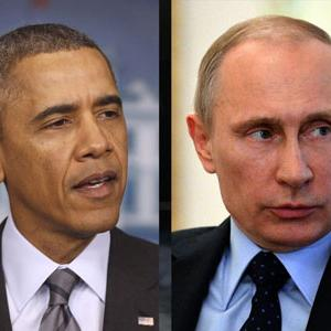 Obama: West Won't Let Kremlin Carve Up Ukraine