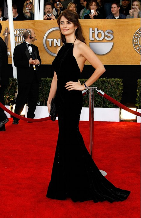 15th Annual Screen Actors Guild Awards 2009 Penelope Cruz