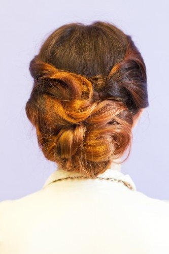 Faux Braided Twist
