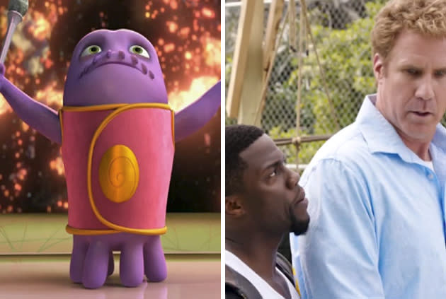 Will Ferrell, Kevin Hart Take On Alien Toon At The Box Office: It's Gonna Be Close