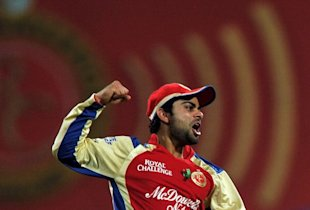 Royal Challengers Bangalore fielder Vira