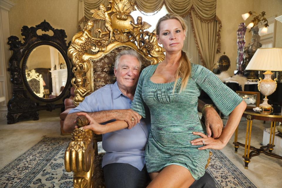 "This image released by Magnolia Pictures shows David Siegel, left, and Jackie Siegel, subjects of the documentary ""The Queen of Versailles."" (AP Photo/Magnolia Pictures, Lauren Greenfield)"