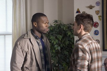 50 Cent and Brian Presley in MGM's Home of the Brave