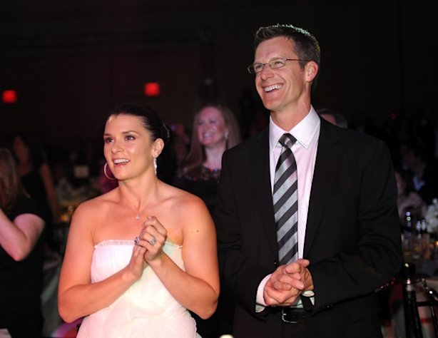 Danica Patrick and Paul Hospenthal attend Celebrity Fight Night XVI, at the JW Marriott Desert Ridge in Phoenix, Ariz., March 20, 2010 -- Getty Images