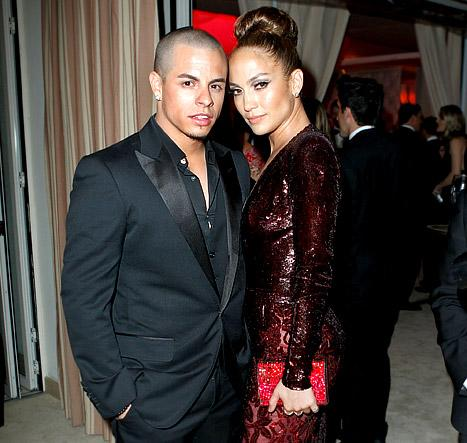 "Jennifer Lopez, Casper Smart Shot ""Orgy Scene"" for ""Dance Again"" Music Video"