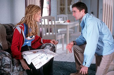 Heather Graham as Joline and Luke Wilson as Carl in Miramax's Committed
