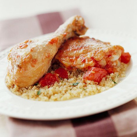 Ginger-Tomato Chicken