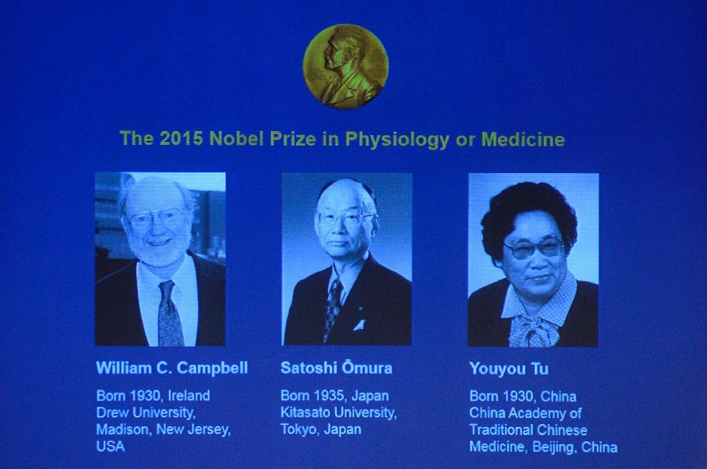 Chinese herbal expert among Nobel medicine prize winners