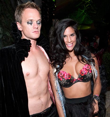 Shirtless Neil Patrick Harris Reveals Nipple Piercing at Playboy Mansion