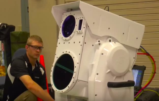Boeing's incredible drone-killing laser cannon can destroy UAVs mid-flight
