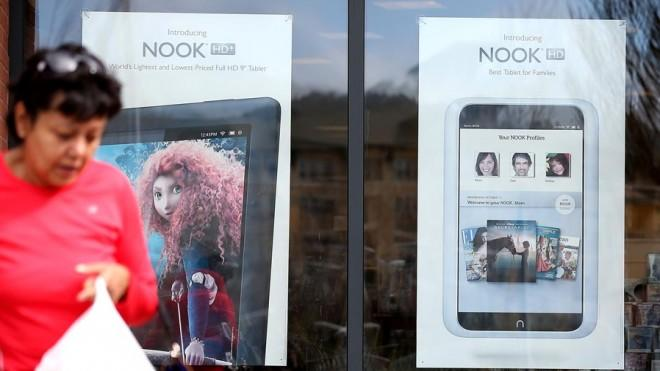 Armed with the Nook, Microsoft may have a better shot competing with Amazon and Apple.