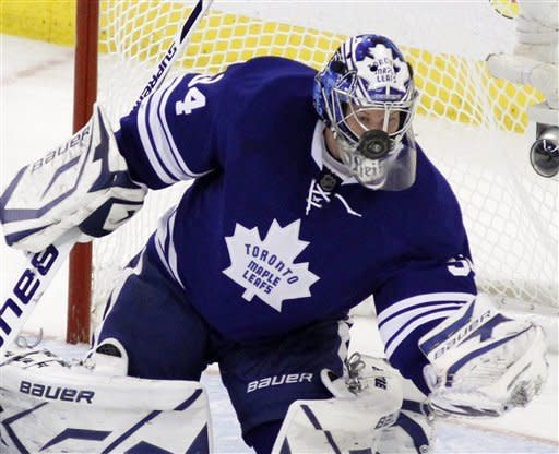 Reimer's 2nd straight shutout lift Leafs over Sens