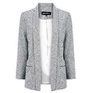 Mini Jacquard Blazer Warehouse: Fashion Trend