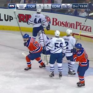 Eberle lights the lamp for lead