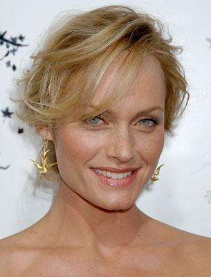 Amber Valletta at the Hollywood premiere of TriStar Pictures' Premonition