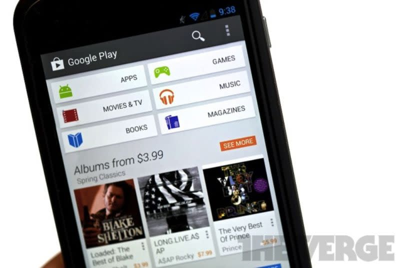 Sponsored search results coming to Google Play Android app store