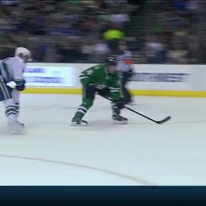Goligoski saucers one to Garbutt to score