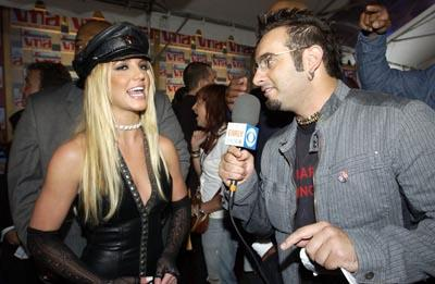 Britney Spears and Chris Kirkpatrick MTV Video Music Awards New York City - 8/29/2002