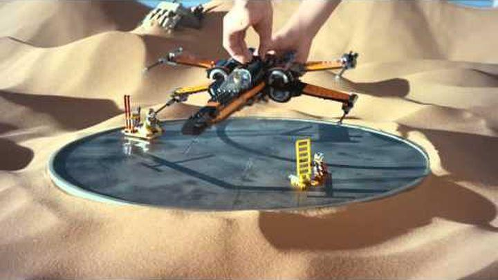 Does this Force Awakens Lego commercial drop a hint at the movie's plot?