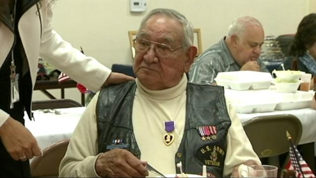 Vet Awarded Purple Heart 69 Years After Sniper Shooting