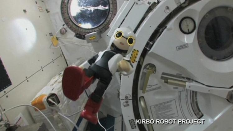Japan's space robot phones home for the first time