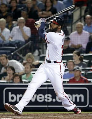 Heyward leads Braves to 7-1 win over Phillies