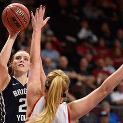 #WCCHoops Championships | One-On-One with BYU's Lexi Eaton