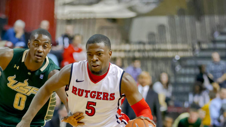 NCAA Basketball: South Florida at Rutgers
