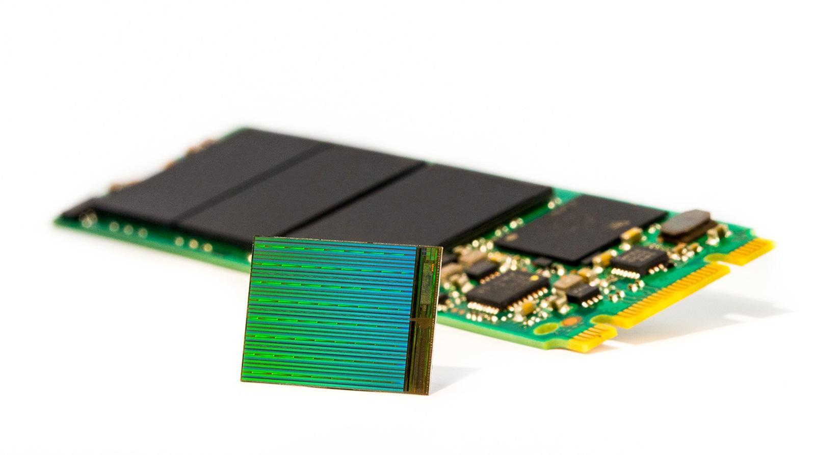 New 3D NAND flash memory from Intel, Micron could result in 10-terabyte SSDs