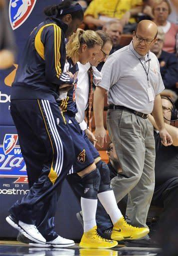Fever beat Sun 87-71 to advance to WNBA Finals