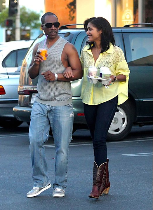 Eddie Murphy Starbucks With Date jpg