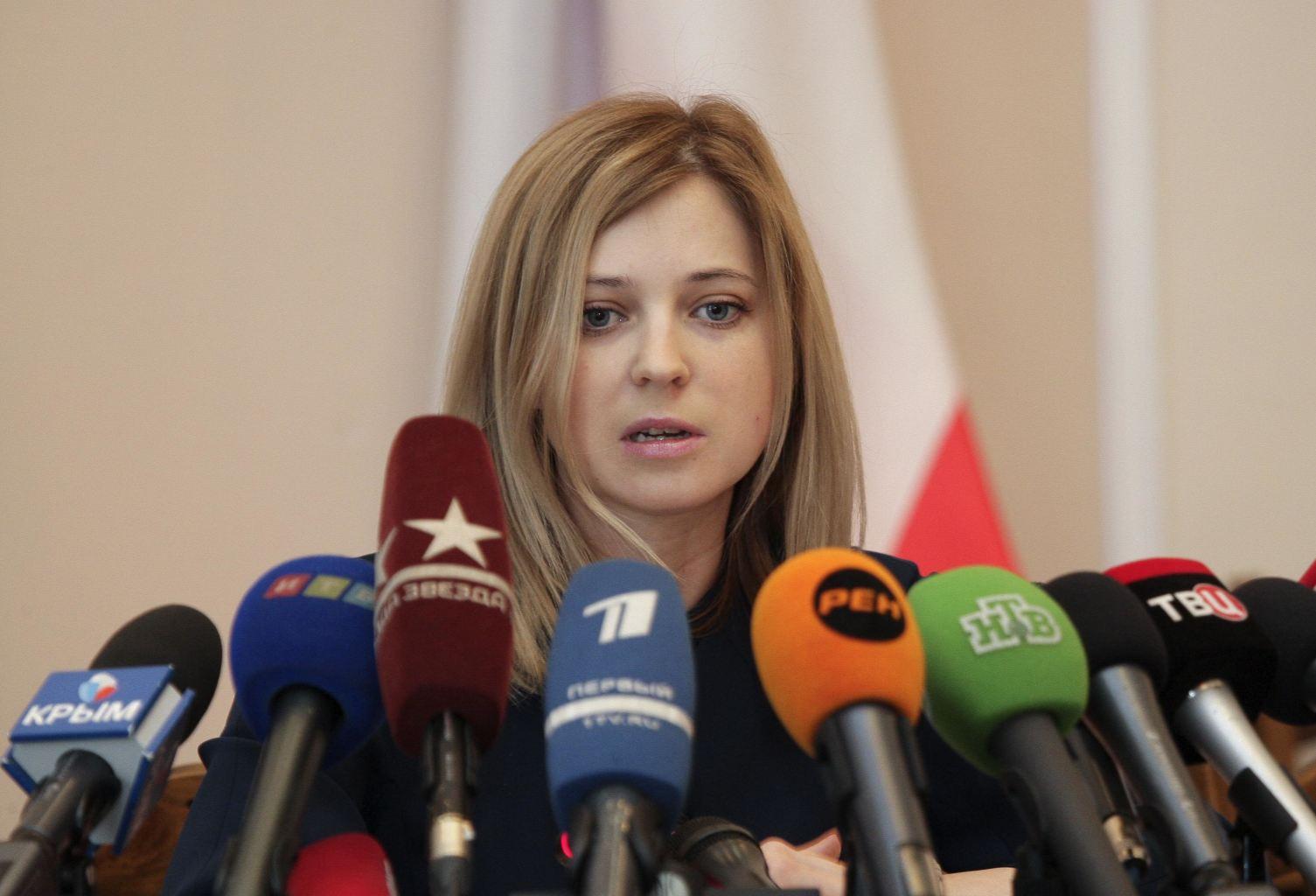 Natalia Poklonskaya la general rusa que se volvió viral