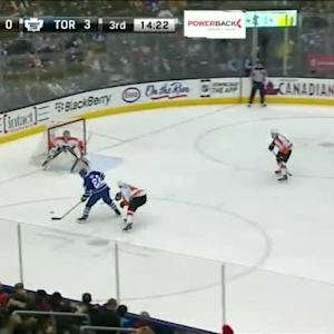 Steve Mason Save on Zach Sill (05:40/3rd)