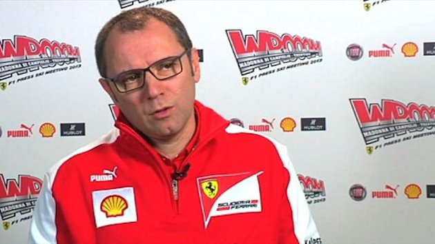 Stefano Domenicali, Ferrari, 2013