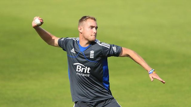 Stuart Broad was in good form against a New Zealand XI