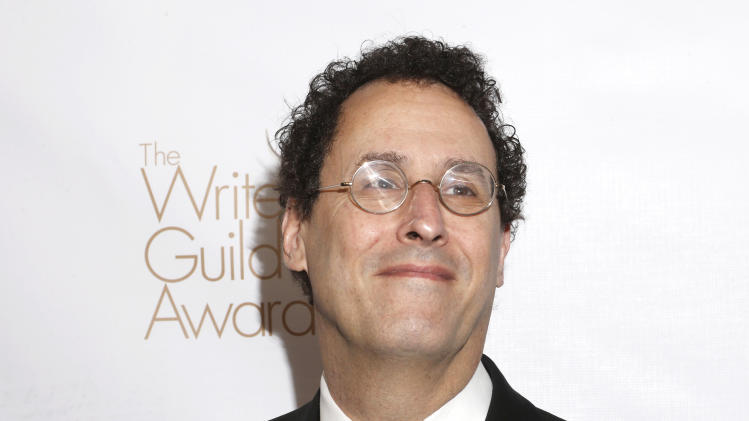Tony Kushner attends the 2013 Writers Guild Awards at the JW Marriott on Sunday, Feb. 17., 2013 in Los Angeles. (Photo by Todd Williamson/Invision/AP)