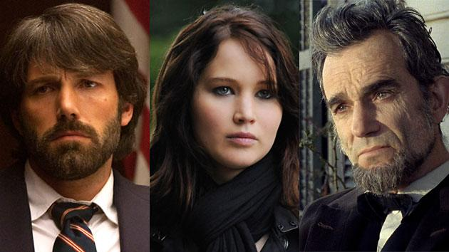 Argo, Silver Linings, Lincoln