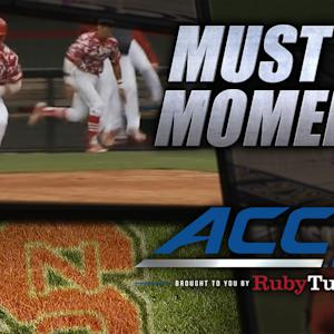NC State's Riley Pinch-Hit Walk-Off Home Run Tops UVA | ACC Must See Moment
