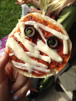 Pizza Mummy