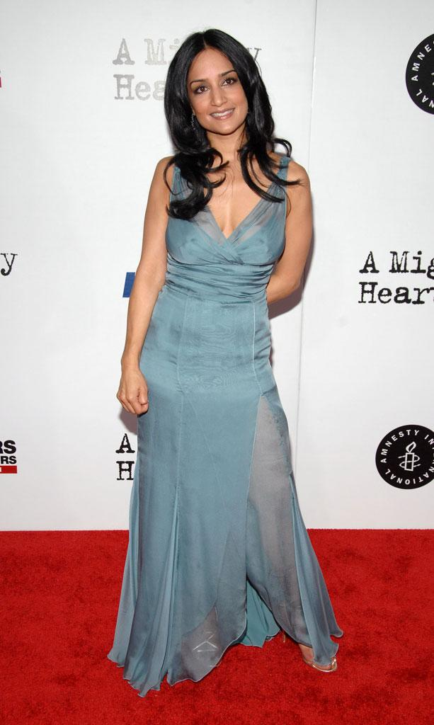 "Archie Panjabi at the New York premiere of ""A Mighty Heart"" on June 13, 2007"